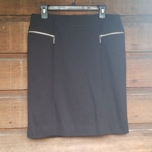 MICHAEL Michael Kors Black Pencil Skirt 12